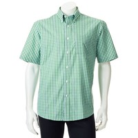 Arrow Plaid Broadcloth Casual Button-Down Shirt