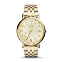 Vintage Muse Multifunction Stainless Steel Watch – Gold-Tone