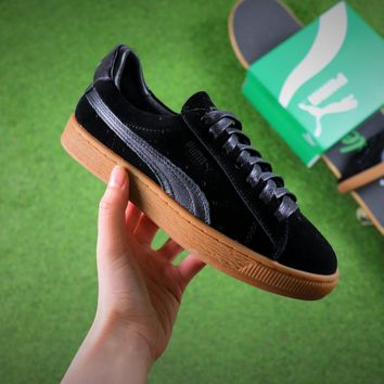 Best Online Sale Puma Suede Classic Basket Black Suede Shoes Sneaker 365054-09