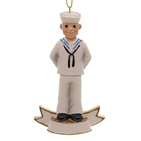 Personalized Ornament U.S. NAVY ORNAMENT Polyresin Official Licensed Na2151
