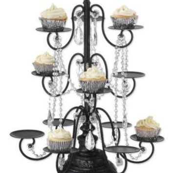 Victorian trading Co. - www.victoriantradingco.com - Cupcake Chandelier Stand