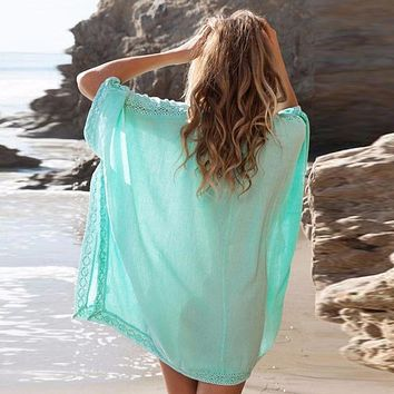 Bathing Suit Lace Beach Bikini Cover Up