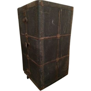 Pre-owned Beales & Selkirk 1930s Wardrobe Steamer Trunk
