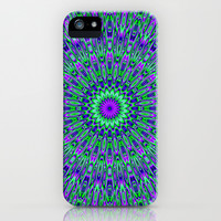 FUNKY FLORA iPhone & iPod Case by catspaws