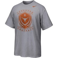 Nike Texas Longhorns Icon Performance T-Shirt - Ash