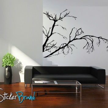 Vinyl Wall Decal Sticker Weeping Tree Branches #AC147