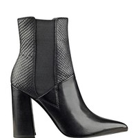 Breki Pointed-Toe Booties at Guess