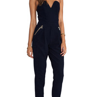 Three Floor Sky High Jumpsuit in Navy