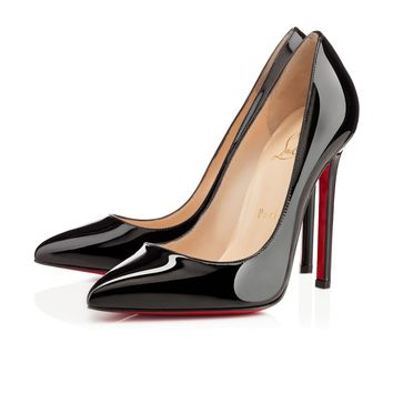 Best Online Sale Christian Louboutin Cl Pigalle Black Patent Leather 120mm Stiletto Heel Classic