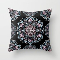 Mystic Dreams Night Throw Pillow by Lisa Argyropoulos | Society6