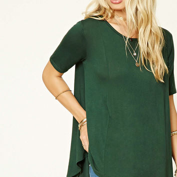 High-Low Trapeze Top