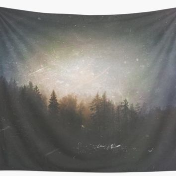 'The grudge' Wall Tapestry by happymelvins