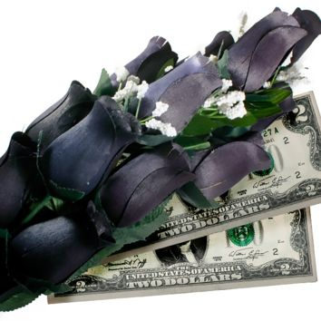 Black Bouquet | Cash Roses®