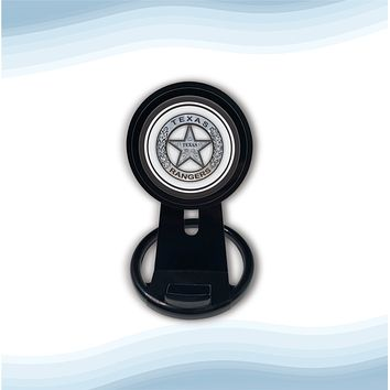 Texas Ranger badge Universal Wireless Charger with Bult in Stand