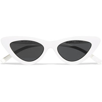 Le Specs - + Adam Selman The Last Lolita cat-eye acetate sunglasses