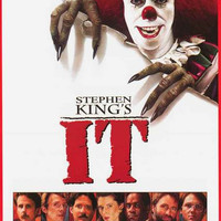 It Movie Poster 24x36