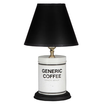 Generic Coffee Caddy Lamp
