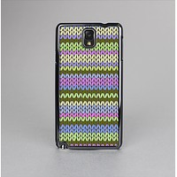 The Colorful Knit Pattern Skin-Sert Case for the Samsung Galaxy Note 3