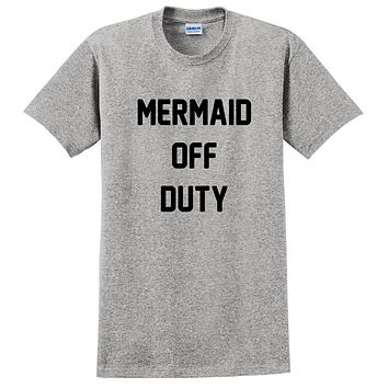 Mermaid off duty, mermaid mom, mermaid hair T Shirt
