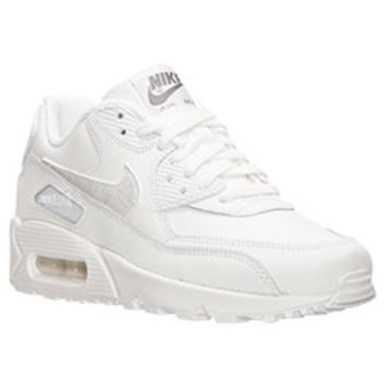 boys' gradeschool nike air max 90 running shoes