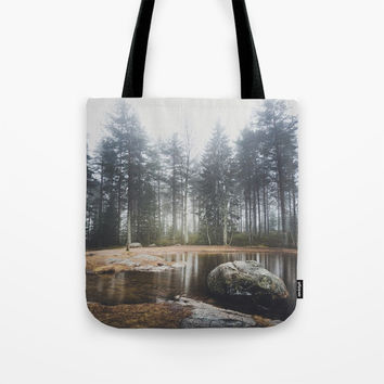 Moody mornings Tote Bag by happymelvin