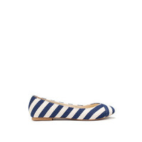 STRIPED BALLERINA - Shoes - Collection - TRF - ZARA Portugal