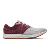 New Balance - Fresh Foam Zante Sweatshirt (ML1980AB) - Burgundy w/ Light Grey