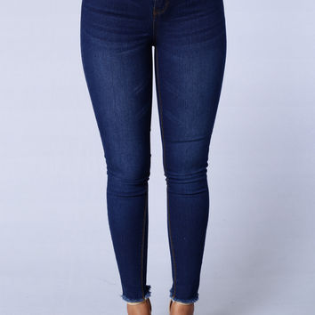 Double Trouble Jeans - Dark