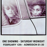 Films By John Lennon & Yoko Ono 11x17 Movie Poster (1975)