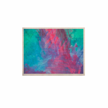 """NL Designs """"Bold Choice"""" Teal Painting KESS Naturals Canvas (Frame not Included)"""