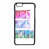 Hunters Doctos Boys Superwholock Quotes iPhone 6 Case