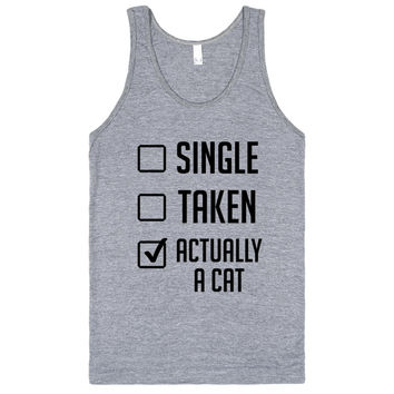 Not Single Or Taken, Actually a Cat