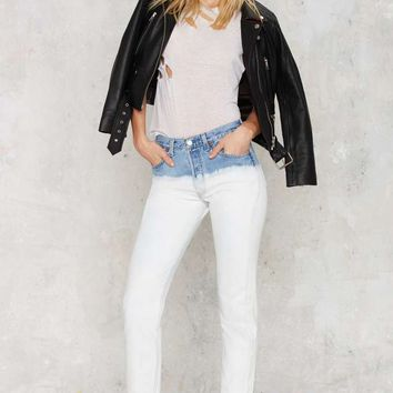 After Party Vintage Like a Badass Levi's 501 Jeans - Two-Tone