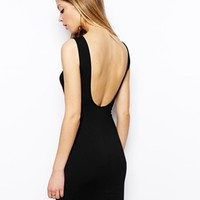 ASOS Low Back Bodycon Dress at asos.com