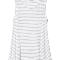 Athleta Womens Striped Trapeze Tank