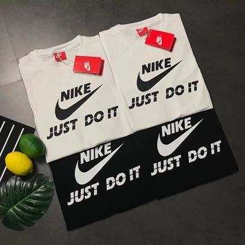 Nike just do it short sleeve top blouse shirt