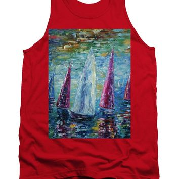 Sails To-night - Tank Top
