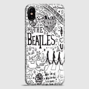 Personalized The Beatles iPhone X Case