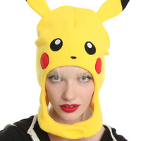 Pokemon Pikachu Mascot Hat