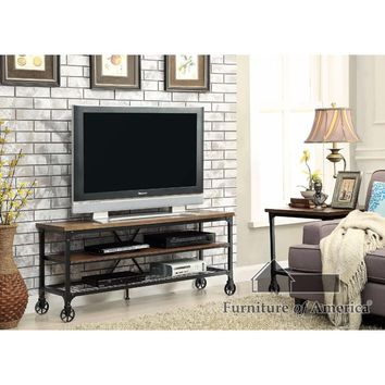 "Ventura Ii Industrial 54"" Tv Stand By Furniture Of America"