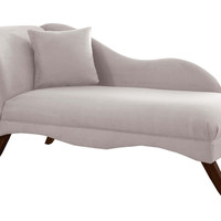 Ariel Chaise Lounge, Dove, Chaise Longues