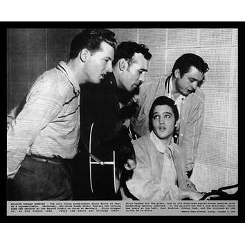 Million Dollar Quartet Poster Elvis Presley Johnny Cash