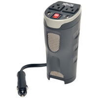 TRIPP LITE PV200CUSB 200-Watt-Continuous Cup-Holder PowerVerter(R) Ultra-Compact Car Inverter