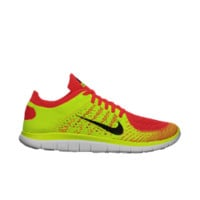 Nike Free 4.0 Flyknit Men's Running Shoe Size 12.5 (Red)