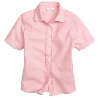 Non-Iron Short-Sleeve Oxford - Brooks Brothers