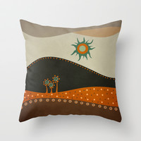 Sweet. Land. Throw Pillow by Viviana González | Society6
