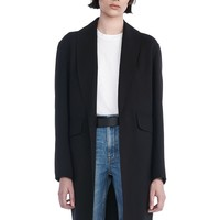 SHAWL COLLAR BLAZER | JACKETS AND OUTERWEAR | Alexander Wang Official Site