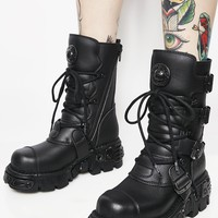Stompin' Grounds Lace Up Boots