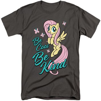 My Little Pony Tall T-Shirt Be Cool Be Kind Charcoal Tee