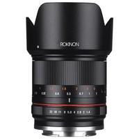 Rokinon 21mm f/1.4 Manual Focus Lens for Canon EOS M Mount Mirrorless Cameras -Black
